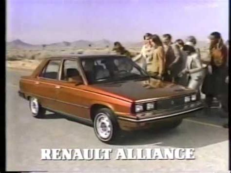 1983 renault alliance amc renault alliance road to usa 1 1983