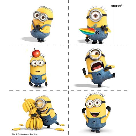 Celengan Minion Despicable Me minions despicable me tattoos 4 birthdayexpress