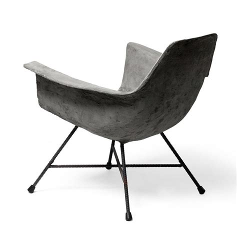 low armchair buy hauteville concrete low armchair the worm that