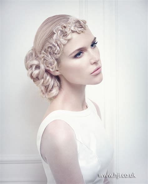 blonde hairstyles 2015 uk low bridal side bun