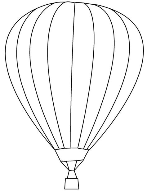 hot air balloon template bing images baby 54