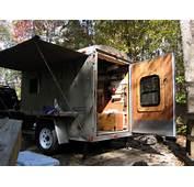 Utility Trailer Camper Conversion Car Tuning