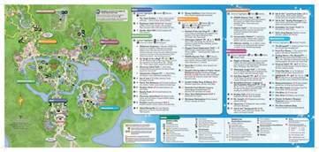 all walt disney world resort theme park maps meet the magic