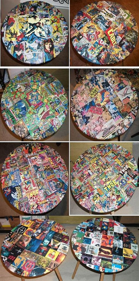 Comic Book Decoupage - 1000 images about decoupage stuff on comic