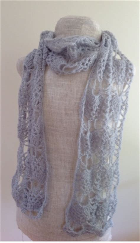 knitting pattern sler scarf broomstick lace scarf allfreecrochet com