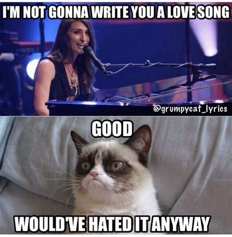 cat song grumpy cat sings song by bareilles i grumpy