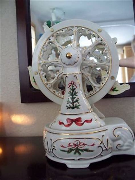 karlabiz ceramic christmas ferris wheel
