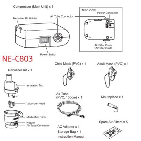 Murah Obat Batuk Obat Uh Mengeluarkan Dahak Dan Sembuhkan Batuk omron ne c803 mini compact compressor nebulilezer murah ekonomis