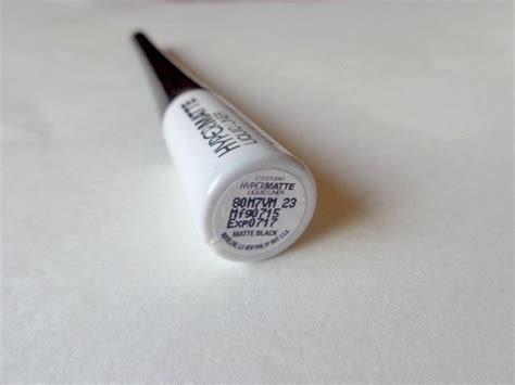 Maybelline Hyper Matte maybelline new york hyper matte liquid liner review