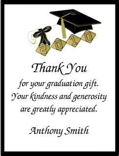 Thank You Letter Graduation Money Graduation Custom Thank You Cards Flat Announcements
