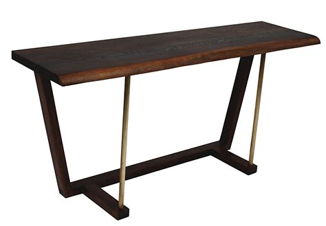 Live Edge Console Table Kava Live Edge Console Table 48 Quot Modern Digs Furniture