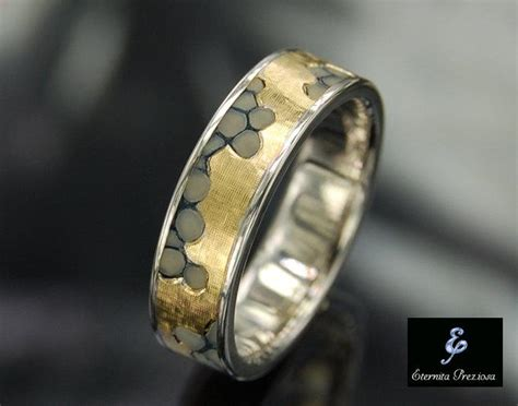 Handmade Mens Wedding Bands - unique wedding engagement ring handmade engagement ring