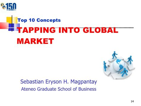 Ateneo Graduate School Mba by Top 10 Concept Tapping Into Global Market