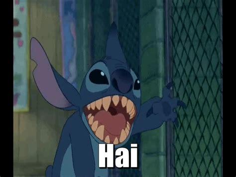 Stitch Hi Meme - too many requests