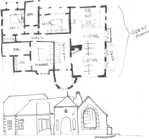 corner house plans impressive house plans for corner lots 5 corner lot house plans smalltowndjs