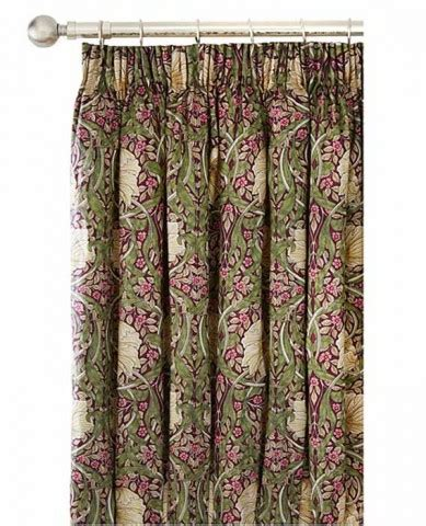 william morris curtains uk william morris pimpernel aubergine lined curtains