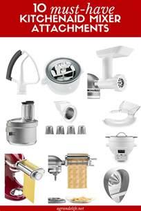 10 must kitchenaid mixer attachments a grande