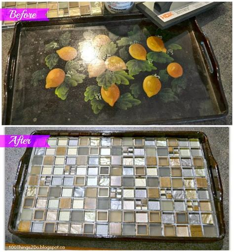 diy tray 17 best images about crafts tray trivet ideas on