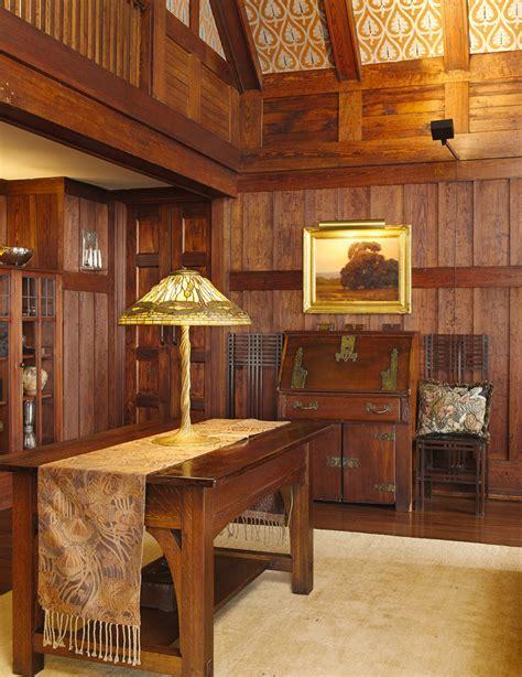 Lighting to Accent & Define Arts & Crafts Interiors