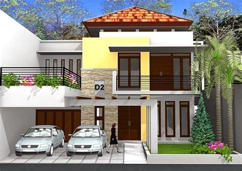 contoh desain rumah tingkat minimalis modern desain denah rumah minimalis desain denah rumah