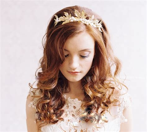 Wedding Hair Accessories Gold by Bridal Gold Hair Accessory Fashion Trend