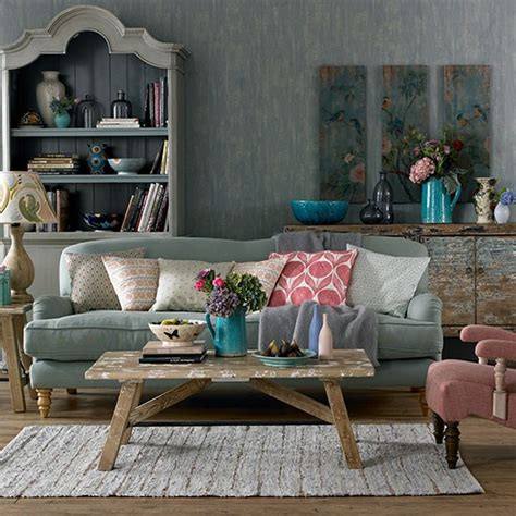 Feel Living Room by Bohemian 1920s Feel Living Room Decorating Housetohome