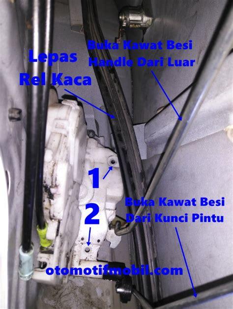 Karet Pintu Bagasi All New Avanza Atau All New Xenia Ori cara membuka pintu mobil tidak bisa dibuka dari dalam dan luar otomotif mobil