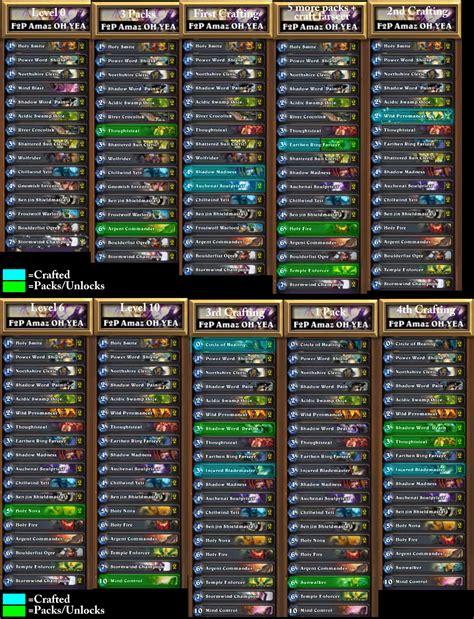 amaz decks all deck lists for amaz s f2p priest 7 5 hours
