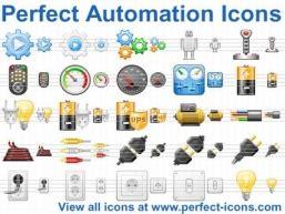vollkommene automatisierung icons geben sie