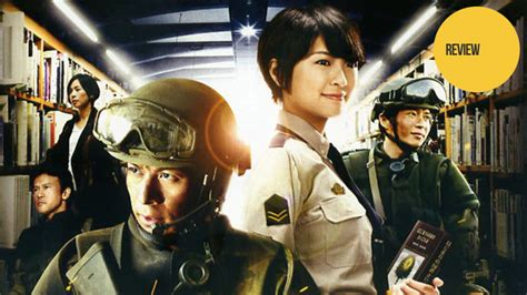 anime live action the library wars live action movie is both action filled