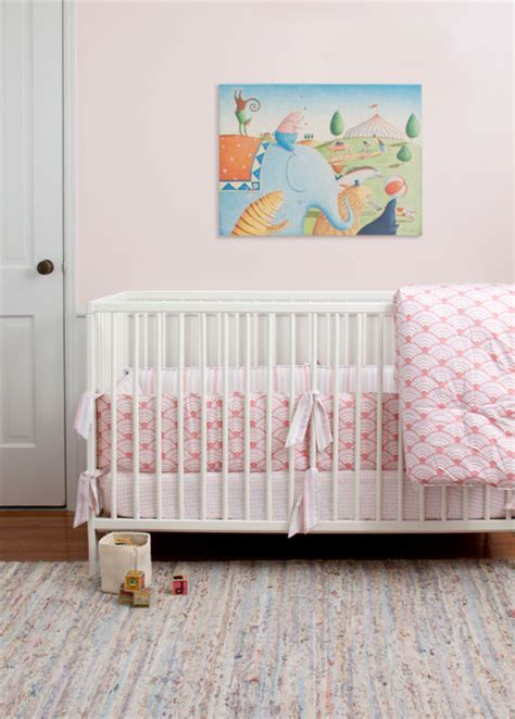 modern nursery bedding wave orange nursery crib bedding modern baby bedding