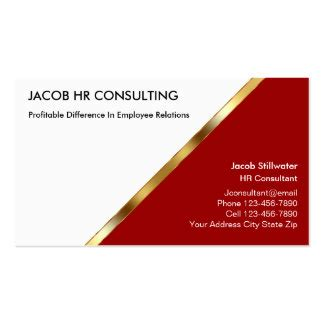 hr business cards templates hr manager business cards templates zazzle