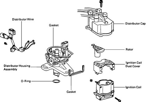92 camry distributor wiring diagram get free image about