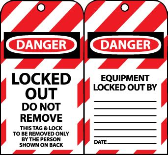 Trm Lockout Tagout Manager Total Resource Management Lock Out Tags Template