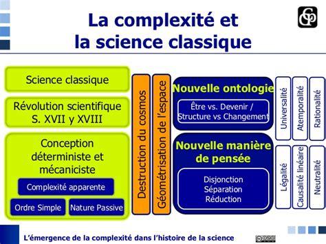 140952759x l histoire de la science l 233 mergence de la complexit 233 dans l histoire de la science