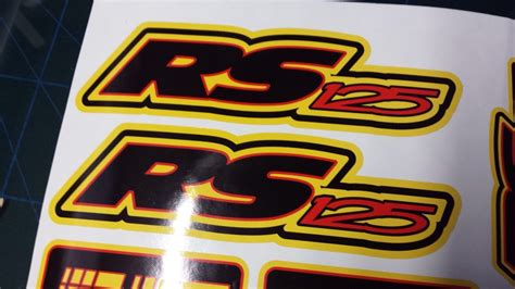 Decal Sticker Dtracker 150 Yellow Racing aprilia rs125 decals stickers yellow black rs 125 racing ip 9