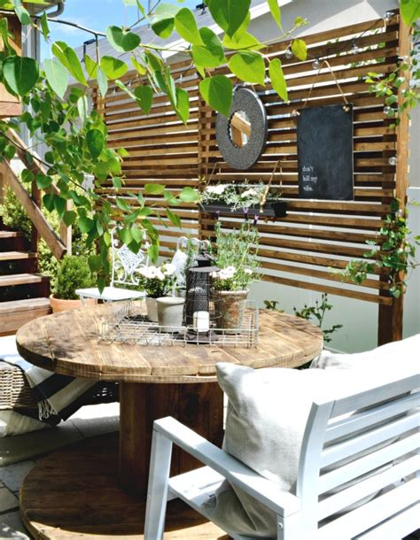Small Patio Privacy Ideas by Small Patio Solutions How To Build A Privacy Trellis
