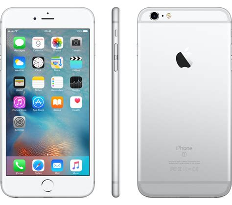 buy apple iphone 6s plus 128 gb silver free delivery currys
