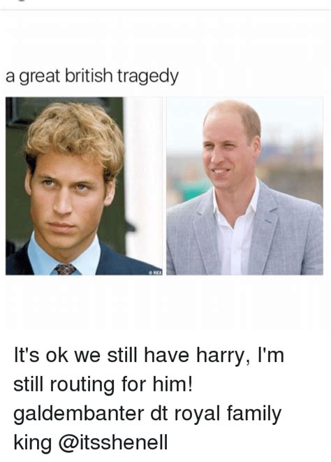Royal Family Memes - a great british tragedy d rex it s ok we still have harry
