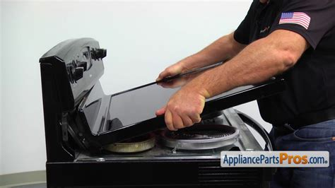 replacing a glass cooktop range cooktop assembly part w10245805 how to replace