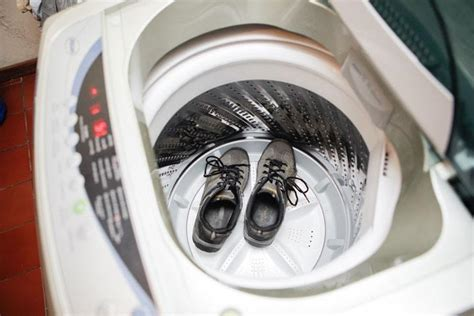 can you put tennis shoes in the dryer style guru
