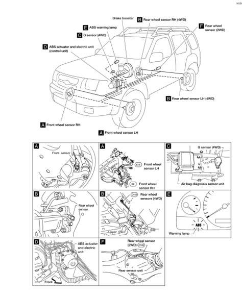repair anti lock braking 2005 nissan pathfinder head up display repair guides anti lock brake system description operation 1 autozone com