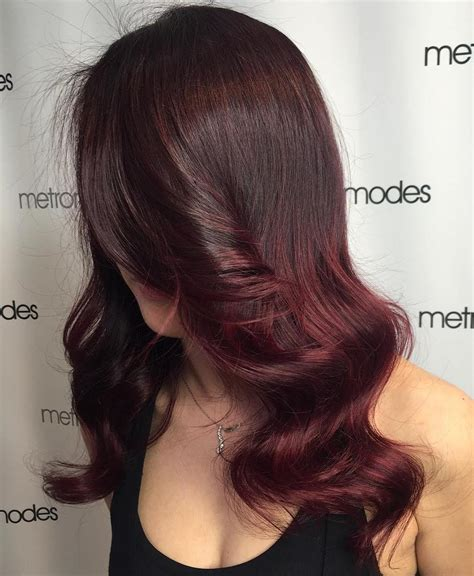 burgundy brown hair color 50 shades of burgundy hair color maroon burgundy
