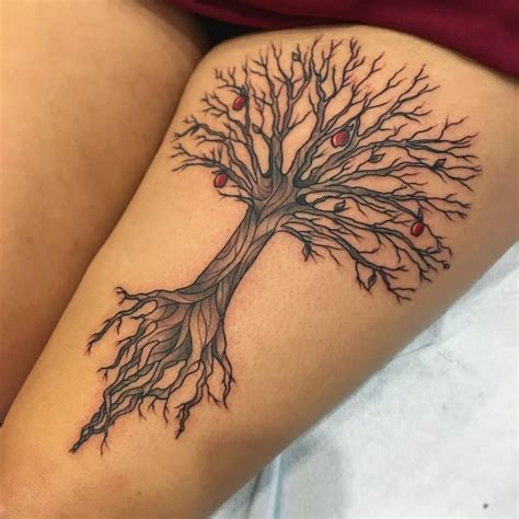 apple tree tattoo apple tree fresh tattoos