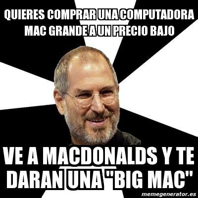 Meme Generator Mac - meme steve jobs quieres comprar una computadora mac
