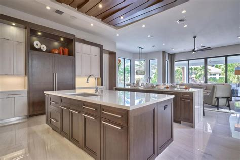 Modern Wood Kitchen Cabinets Contemporary Kitchen Cabinets Design Decoration