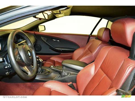 Bmw 6 Series Convertible Interior by 2006 Bmw 6 Series 650i Convertible Interior Color Photos