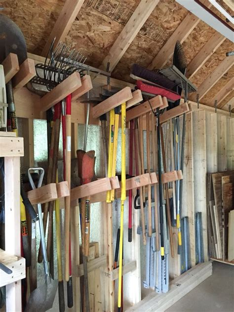 storage shed organization ideas  pinterest