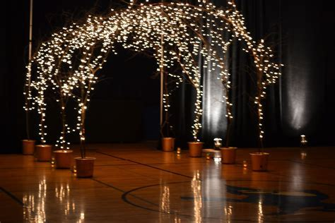 Lighted branch archway   Nifty. in 2019   Wedding arch