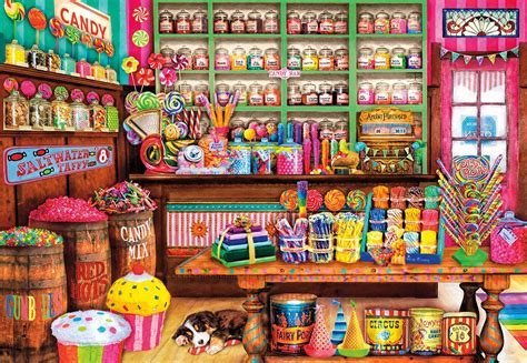 sweet shop jigsaw puzzle puzzlewarehouse com